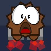 Crazy Chibi Rocket Escape - Drift Through Space