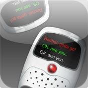 Writie Talkie : Walkie Talkie + Text Messenger