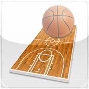 Basketball coach`s clipboard