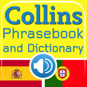 Collins Spanish<->Portuguese Phrasebook & Dictionary with Audio
