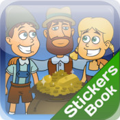 Hansel Gretel Stickers Book sticker translator