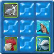 Kids Can Match - Animals , vocal memory game for children HD
