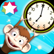 Bright Ninja Tells Time – Learn to Tell the Time with an Analog Clock – Help Telling the Time – by BigPlay time munch time