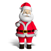 A Christmas Talking Santa for iPhone Game App
