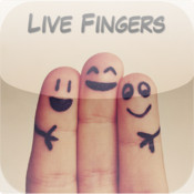 Live Fingers - Add Cool Faces and Stuff to your Fingers
