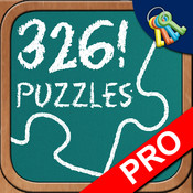 Puzzle School Professional: 326 Puzzles Activity Center for All Ages with Interactive 2 Player Game
