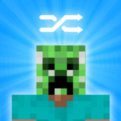 Minecraft Skins Pro: Shuffle