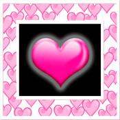 Valentine`s Day Photo Frames
