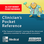Clinician`s Pocket Reference (The Scut Monkey Book) excellent reference book