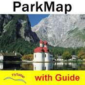Berchtesgaden National Park - GPS Map Navigator