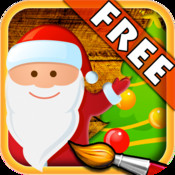 Christmas - Color Your Puzzle and Paint the Characters of Christmas - Coloring, Drawing and Painting Games for Kids - FREE