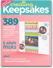 Creating Keepsakes Magazine creating