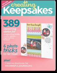 Creating Keepsakes Magazine creating