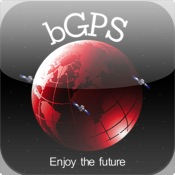 bGPS - Free GPS Navigation Map with Turn by Turn Voice Guidance and Peer Location Tracking voice guided turn