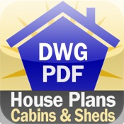 House Plans: Cabins and Sheds for iPad home design house plan