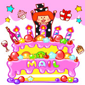 Birthday animated emoticons mailer app for ipad iphone