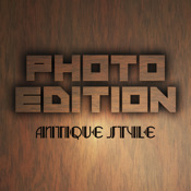 Photo Edition Antique Style little ant