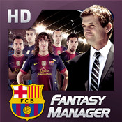 FC Barcelona Fantasy Manager 2013 HD manager players skills