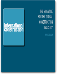 International Construction - The magazine for the global construction industry