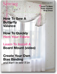 Sewing Projects and Tips Mag projects