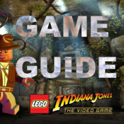 Guide for LEGO INDIANA JONES1 MOVIE GUIDE FOR XBOX,PS3 game cd