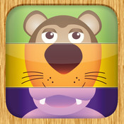 Animal Mix and Match - Educational Matching Game