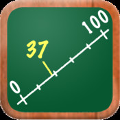 MathTappers: Numberline - a math game to help children learn whole numbers, integers & real numbers point numbers