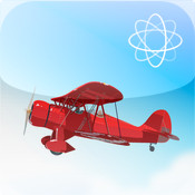 Airplane Gyroscope Attitude Indicator