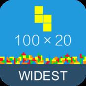 Ever Blocks-Wide Wider Widest tetris clone