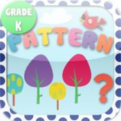 Kids Math-Patterns Worksheets(Kindergarten) free fraction worksheets