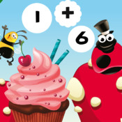 Calculate Bakery - Solve the Summations in Happy Bug`s Life! Free Education Math Teaching Kids Game