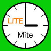 MitePlusLite - the simple, easy, and accurate stopwatch and countdown timer app