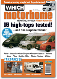 Which Motorhome: The UK`s only motorhome buyers` magazine