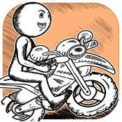 Advanced Sketchman Moto X Race Game