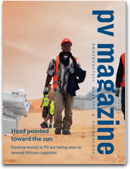 pv magazine global edition - the B2B magazine with news on photovoltaics: markets and technology