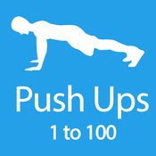 Push Ups 1 to 100: Full Fitness Buddy Workout Personal Trainer to Lose Weight and Burn Calories
