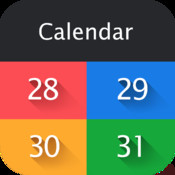 Swipe Calendar for Faсebook, vk.com, odnoklassniki.ru , Google+, Google calendars and Outlook