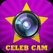 Celeb Cam: Movie Stars as Live Camera Effects + Photo Booth & Picture Editor to Draw/Paint a Meme
