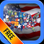 US State Flags Practice Quiz - The Free Educational United States Flag Trivia Game