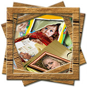 Alice`s Photo Frames and Greeting Cards, Happy New Year and Christmas Cards