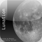 Moon Lunation with Phase Calendar 2012 moon phase calendar