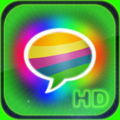 Pimp My Message(HD) - Send Color & Glow & Bling Bubble Message for iPad