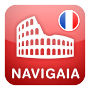 Rome Multimedia Travel Guide in French by Navigaia