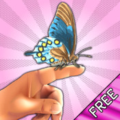 Butterfly Fingers! with Augmented Reality FREE