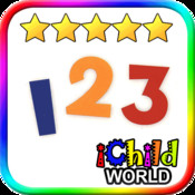 123 ABC World - Top Kid Education Book