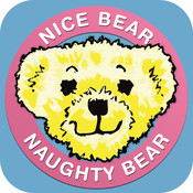 Nice Bear Naughty Bear Reward Chart for children and parents bear screensaver