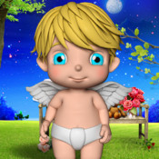 A Talking Baby Angel for iPhone - The Little Angel App angel arena ice age