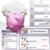 iOmoney - expense tracker - bill splitter - money solver for groups of people - now with email reports crystal reports user groups