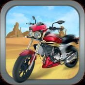 Desert Motor Bike - Motorcycle Racing in Death Valley!
