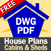House Plans: Cabins and Sheds (Free) home design house plan